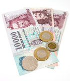 hungarian forint currency poster