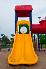 colorful of playground