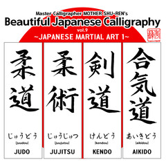 Kanji - Beautiful Japanese Calligraphy vol.9