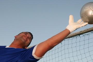 Goalkeeper Saving Ball