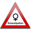 Schild Emanzipation