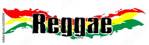Rasta Symbol - Reggae Flag 01