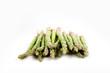 mucchio di asparagi