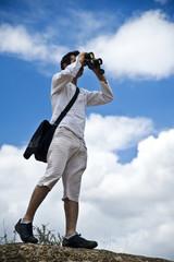 tourists and surveillance