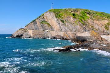 A beautiful coastal scene - Ilfracombe in North Devon