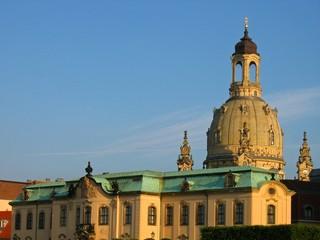 Liebfrauenkirche und Sekundogenitur in Dresden