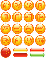 E-Commerce Icons Set (Vector)