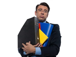 Man Portrait holding files