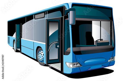 Modern Bus - 23407187