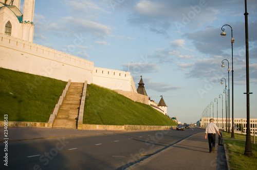the road in the Kazan