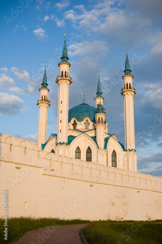 the kazan mosque in the kremlin