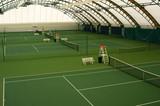 Indoor tennis court