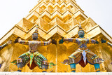 Demons which supports the golden Chedi poster