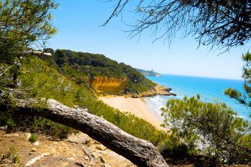 Cala Fonda beach, Tarragona, Spain