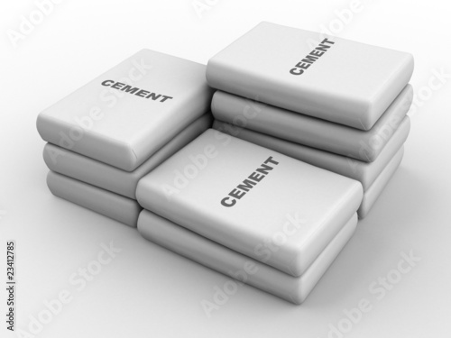 Cement bags - 23412785