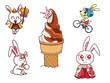 ウサギのキャラクタ−002