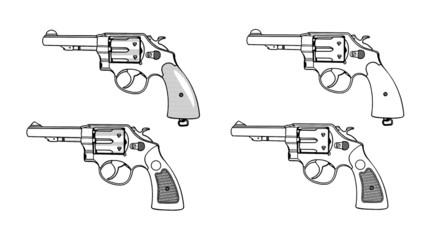 拳銃(新旧リボルバー)