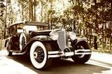 Fototapeta starodawny - samochodów - Samochód