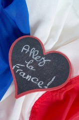 Supporter le sport Français.