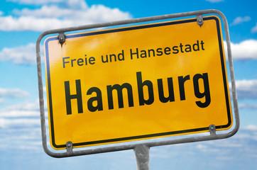 Hamburg Schild