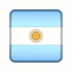 animation drapeau bouton argentine