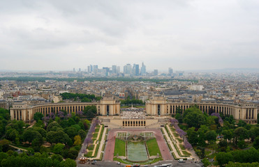 View at Chaillot palace.