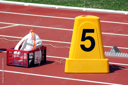 Poster Runway athletics