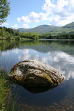 Fototapety Lac et Puy Mary, Cantal