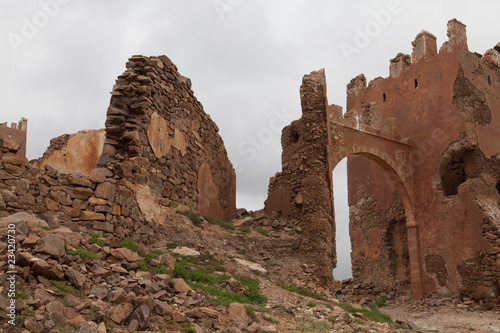 Old fort in Marocco