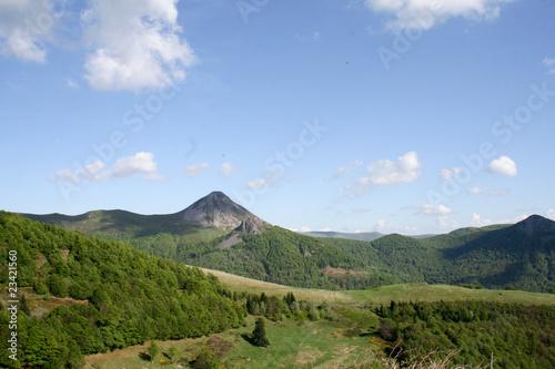 Papiers peints Volcan Puy Griou, Cantal