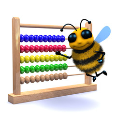 3d Bee using abacus