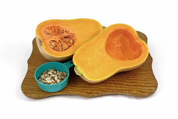 Sliced Butternut Squash Seeds