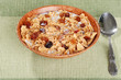 bowl of bran and raisin cereal