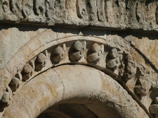 Detalle del cimborrio de la Catedral Vieja de Salamanca