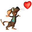 verliebte Maus