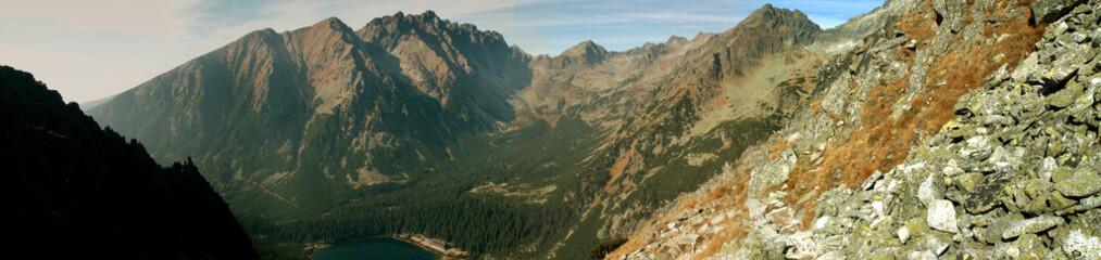 panorama of High Tatras, Slovakia