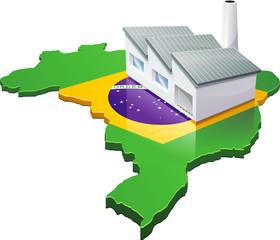 Usine au Brésil (détouré)