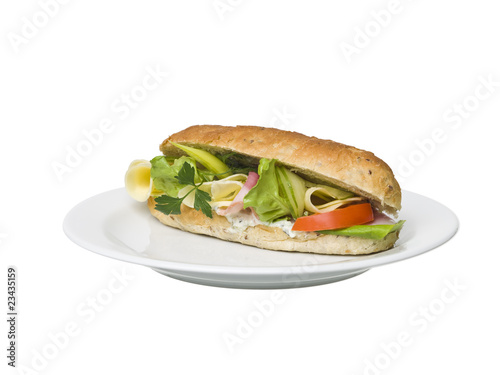 Footlong sandwich