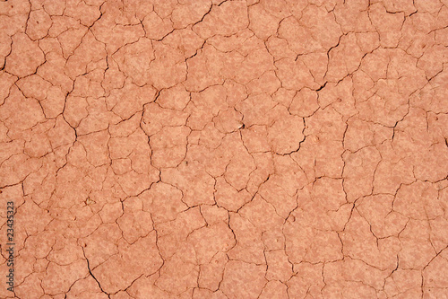 Fotobehang Droogte sol aride sécheresse
