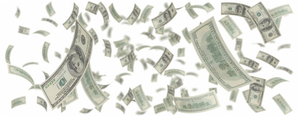 one hundred dollars rain