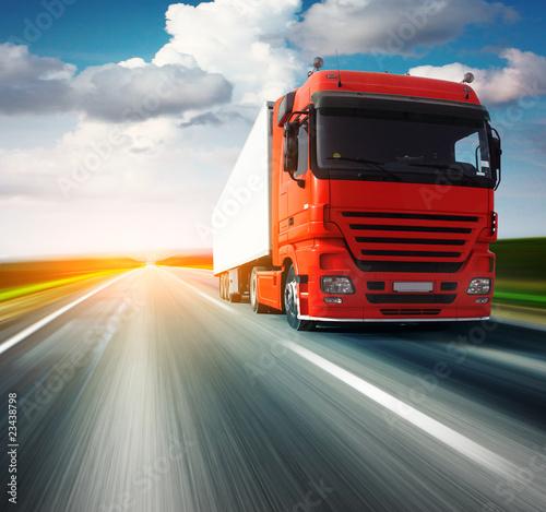 Fototapeten,asphalt,automovil,rot,verwischen