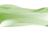 Grüne Wellen und Verläufe