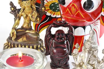 Buddha and hindu statues #2