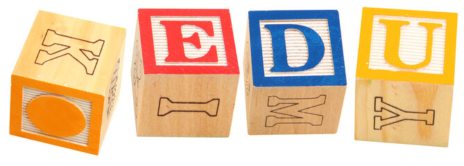 Alphabet Blocks .EDU