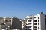 rooftop view of Larnaca Cyprus poster