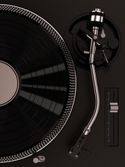 turntable 1210 black