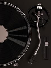 turntable 1210 black