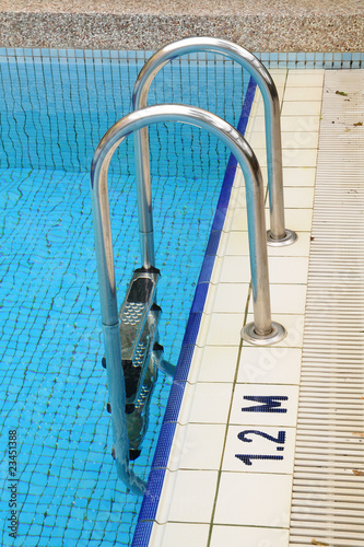 Swimming Pool Ladder Chrome Handle