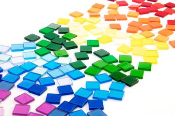 Regenbogen Mosaik II