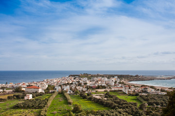 Paleochora town in Crete